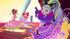 Image result for ever after high kitty cheshire from show