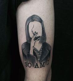 Margot Tenenbaum by Amanda @ Mystical Pain Tattoo - Guarujá / São Paulo - Brazil