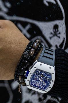 ' — Richard Mille Gentleman's Essentials Richard Mille, Patek Philippe, Amazing Watches, Beautiful Watches, Cool Watches, Audemars Piguet, Stylish Watches, Luxury Watches For Men, G Shock