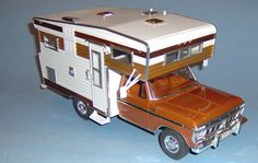 76 Ford F350 and Camper - Scale Auto Magazine - For building plastic & resin scale model cars, trucks, motorcycles, & dioramas