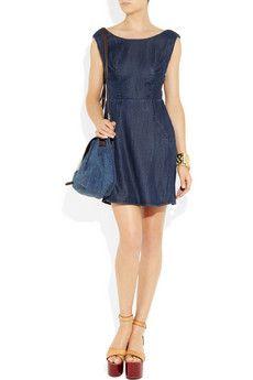 great little denim dress ~ Betty Denim Dress