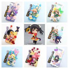 Personalizzato Decoden Love Live Scuola Idol progetto ispirato telefono caso per iPhone 4/4s, 5, 6 6 Plus samsung galaxy e più