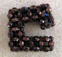 Pattern jewelry: Pendant Square