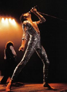Freddie Mercury. Honestly, could anyone EVER pull off this look better than Freddie? And don't give me Bowie. It's JUST not the same.