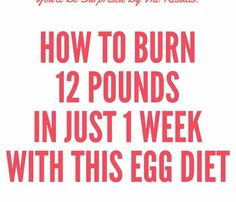 The egg diet that we are going to present you today is intended for a very fast weight loss. The diet deprives the body of nutrition for prolonged time so it's not meant for long term weight loss. Egg Diet Due to the fact that they are rich in protein and nutrients, the eggs are […]