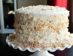 Toasted Coconut Pineapple Cake