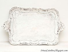 How to Make Shabby Chic Style Tray