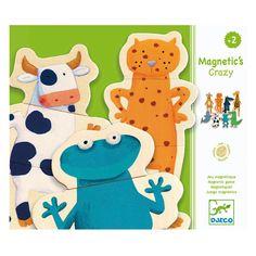 Djeco Magnetspiel Verrückte Tierwelt