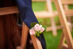 Simple and classic boutonniere. {W&WK} [Nicholas Gore Photography]
