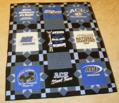 fancy geometric borders cheerleading t-shirt quilt