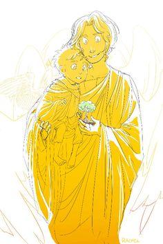 Gabriel and Castiel