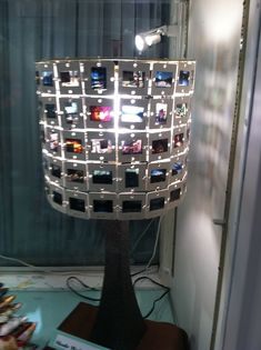 54 best lamp shade frames the many uses images on pinterest needed a lamp base and wiring for bulb set etc wire lamp shade frame slides jump rings and hole punchd some greentooth Gallery