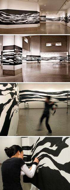 """280 Hours"" Installation. (2009)"