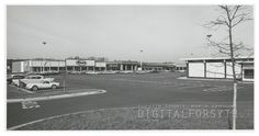 Thruway Shopping Center expansion, 1965.