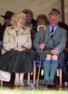 Prince Charles and snd Camilla. She's not my favourite (for obvious reasons), but they seem to always have fun together.