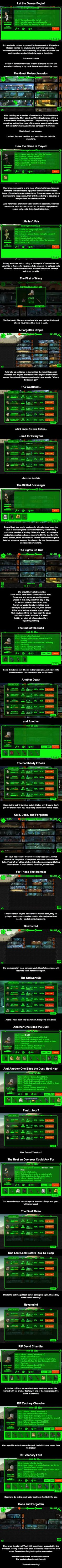 This Guy Got Bored With Fallout Shelter, So He Sent 52 Dwellers Into the Wasteland