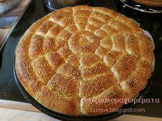 Ψωμί σαν βαμβάκι!!! Pureed Food Recipes, Top Recipes, Greek Recipes, Cooking Recipes, Recipies, Greek Bread, Greek Sweets, Greek Cooking, Bread And Pastries
