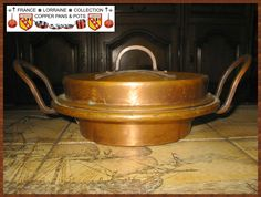 French Copper Tourtière, beautiful handmade work part 9