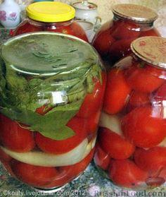 Фото приготовления рецепта: Консервация. Вкусные помидорчики - шаг №3