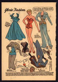 Katy Keene Comic Book Paper Doll