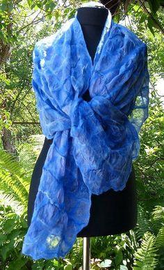 Nuno Felted scarf от crazywoolLT на Etsy, $68.00