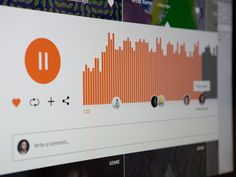 SoundCloud Player Redesign by Thomas Palumbo for Harbr Co.