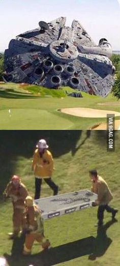 Photos from Harrison Ford plane crash