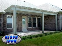 "Olson patio covers ""Another Awesome Job by Olson Iron"" #olsoniron"