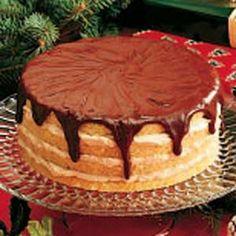 Christmas Day Dessert - Eggnog Cake