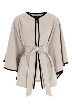 LIVIA CAPE COAT. It looks like something Olivia Pope would wear.