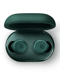 Bang & Olufsen Beoplay E8 3rd Generation In-Ear Wireless Earphones, Green | Neiman Marcus Bang And Olufsen, Best Gifts, Nice Gifts, Charging Cable, Leather Case, Neiman Marcus, Bangs, Usb, Green