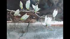 최병화수채화/choeSSi art studio/목련그리기/꽃그리기/水彩畵/how to draw flowers in still-life