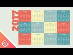 Inkscape Tutorial: Simple Calendar Design - YouTube
