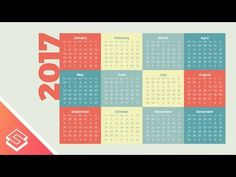 Inkscape Tutorial: Simple Calendar Design - YouTube