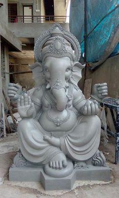 Shri Ganesh Images, Ganesh Chaturthi Images, Ganesha Pictures, Ganesha Drawing, Lord Ganesha Paintings, Clay Ganesha, Ganesha Art, Eco Friendly Ganesha, Ganpati Bappa Wallpapers