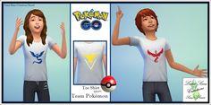Tee shirt team Pokemon go