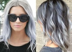 cheveux gris Coloration cheveux