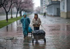 Rainy time in Pyongyang - North Korea by Eric Lafforgue, via Flickr