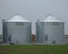 SUKUP FARM GRAIN BINS BUILT BY DEVOLDER FARMS