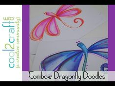 In this DIY craft video, Tiffany Windsor shares how easy it is to doodle with Tombow Dual Brush Pens. Create your own doodle artwork!