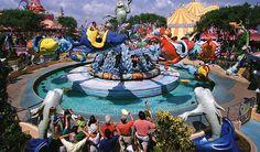 One Fish, Two Fish, Red Fish, Blue Fish Ride - Seuss Landing, Universal Studios Florida