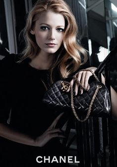 Blake Lively + Chanel - she carries it off.
