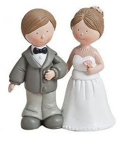 WeddingBride and Groom Wedding Cake Topper/Decoration Ornament Table Ornament in Variante 1 Wedding Cake Toppers, Wedding Cakes, Wedding Cake Accessories, Groom, Romantic, Ornament, Decoration, Table, Wedding Gown Cakes