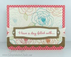 Dotty for You card by Gloria Rogers.