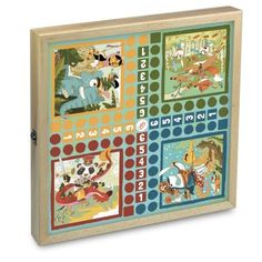 Vilac Súbor hier Fantastický svet Decorative Boxes, Frame, Home Decor, Unique, Checkers Board Game, Traditional Games, Fantasy World, Wood Games, Casket
