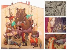 Diseño | RestosdeCultura. ilustraciones de Antonio Segura Donat aka Dulk.