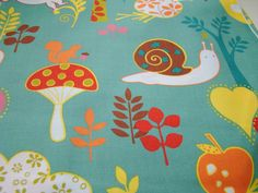 Wee Woodland by Keiki for Moda Fabrics, Turquoise, OOP HTF, FQ