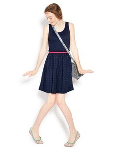 I've+spotted+this+@BodenClothing+Broderie+Vest+Dress+