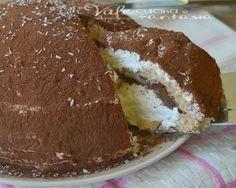 Zuccotto nutella e cocco ricetta dolce senza cottura