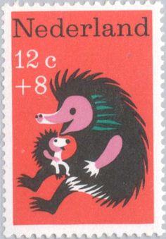 Postage Nederlands ~ hedgehog